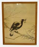 Pair of Australian Watercolours by Tom Howers c.1940 (6 of 6)