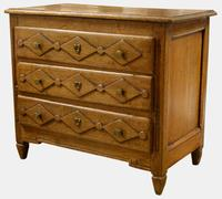 19th Century French Oak Miniature Commode (5 of 5)