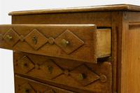 19th Century French Oak Miniature Commode (4 of 5)