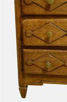 19th Century French Oak Miniature Commode (2 of 5)