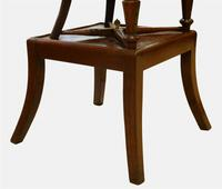 William IV Childs Mahogany Bergere High Chair (2 of 5)