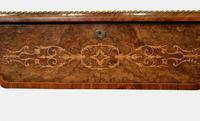 English Burr Walnut Writing Table c.1850 (2 of 7)