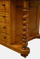 Satinwood Davenport with Original Leather c.1840 (2 of 10)