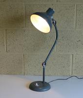 Vintage French Industrial Angle Lamp