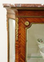 French Kingwood Parquetry Vitrine c.1880 (4 of 17)