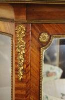 French Kingwood Parquetry Vitrine c.1880 (5 of 17)