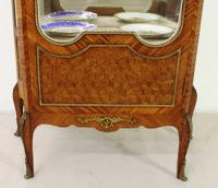 French Kingwood Parquetry Vitrine c.1880 (6 of 17)
