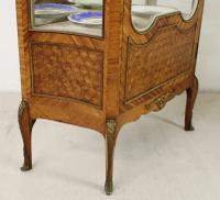 French Kingwood Parquetry Vitrine c.1880 (16 of 17)