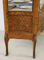 French Kingwood Parquetry Vitrine c.1880 (17 of 17)