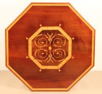 Inlaid Mahogany Octagonal Centre Table c.1901 (3 of 11)