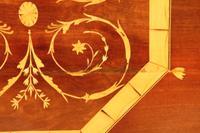 Inlaid Mahogany Octagonal Centre Table c.1901 (6 of 11)