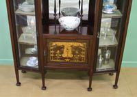 Inlaid Mahogany Art Nouveau Display Cabinet (7 of 15)