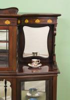 Inlaid Mahogany Art Nouveau Display Cabinet (2 of 15)