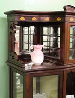 Inlaid Mahogany Art Nouveau Display Cabinet (10 of 15)