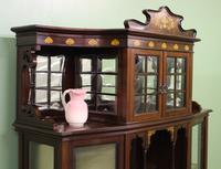 Inlaid Mahogany Art Nouveau Display Cabinet (12 of 15)
