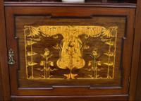 Inlaid Mahogany Art Nouveau Display Cabinet (3 of 15)
