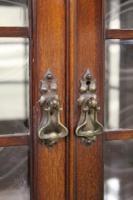 Inlaid Mahogany Art Nouveau Display Cabinet (15 of 15)