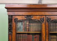 Large Victorian Mahogany Cylinder Bureau Bookcase (3 of 21)