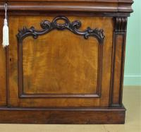 Large Victorian Mahogany Cylinder Bureau Bookcase (13 of 21)