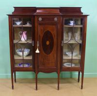 Shapland & Petter Inlaid Mahogany Side Cabinet