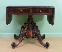 Superb 19th Century Rosewood Sofa Table (5 of 19)