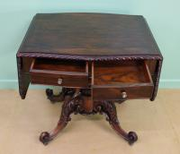 Superb 19th Century Rosewood Sofa Table (7 of 19)