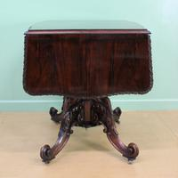 Superb 19th Century Rosewood Sofa Table (11 of 19)