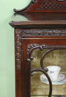 Maple & Co Carved Mahogany Display Cabinet (6 of 13)