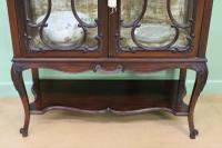 Maple & Co Carved Mahogany Display Cabinet (9 of 13)