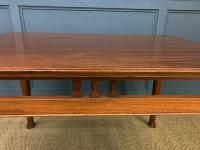 Majorelle Style Walnut Centre Table c.1910 (6 of 9)