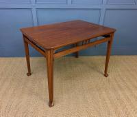 Majorelle Style Walnut Centre Table c.1910