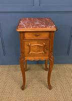 Pair of French Walnut Bedside Cupboards (6 of 12)