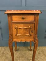 Pair of French Walnut Bedside Cupboards (7 of 12)