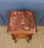Pair of French Walnut Bedside Cupboards (9 of 12)