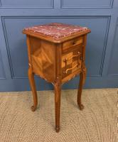 Pair of French Walnut Bedside Cupboards (10 of 12)