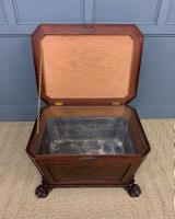 Large Regency Flame Mahogany Wine Cooler (3 of 13)