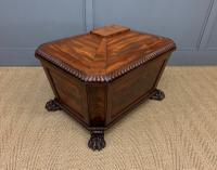 Large Regency Flame Mahogany Wine Cooler (10 of 13)