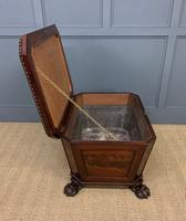Large Regency Flame Mahogany Wine Cooler (11 of 13)