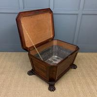 Large Regency Flame Mahogany Wine Cooler (12 of 13)