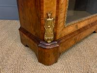 Victorian Inlaid Burr Walnut Pier Cabinet (9 of 16)