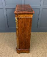 Victorian Inlaid Burr Walnut Pier Cabinet (13 of 16)