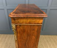 Victorian Inlaid Burr Walnut Pier Cabinet (14 of 16)