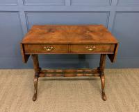 Burr Walnut Sofa Table c.1900 (2 of 15)