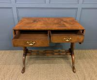 Burr Walnut Sofa Table c.1900 (6 of 15)