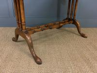 Burr Walnut Sofa Table c.1900 (7 of 15)