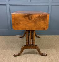Burr Walnut Sofa Table c.1900 (8 of 15)
