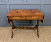 Burr Walnut Sofa Table c.1900 (10 of 15)