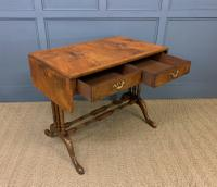 Burr Walnut Sofa Table c.1900 (11 of 15)