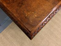 Victorian Inlaid Burr Walnut Work Table (11 of 14)