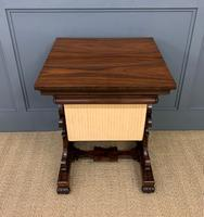 William IV Rosewood Work Table (15 of 15)